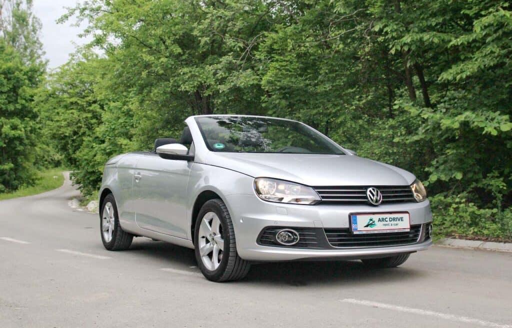 Rent a car decapotabila Cluj – Volkswagen Eos Cabrio
